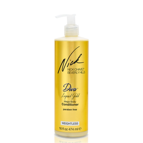 16oz Diva Liquid Gold Mega-Body Conditioner