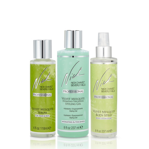 Velvet Mesquite Healthy Hair & Body Gift Set