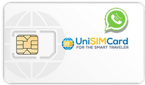 Unisimcard whatsapp