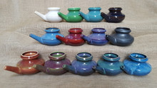 (left to right) BACK ROW: Pearl, Apple Green, Jade Green,  MIDDLE ROW: Blue, Red, Purple, Black FRONT ROW: Cinnamon & Spice, Sonoma Harvest, Purple Olive, Northern Lights, Blue Burst