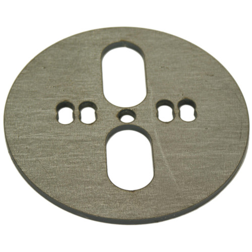 Bag Plate Centered/Offset Dual Port: 01-0000-5.5UNI