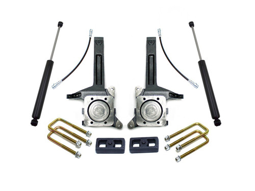 "MAXTRAC - 2007-16 TOYOTA TUNDRA 2WD 3.5""/2"" LIFT KIT W/ MAXTRAC SHOCKS: K886732"