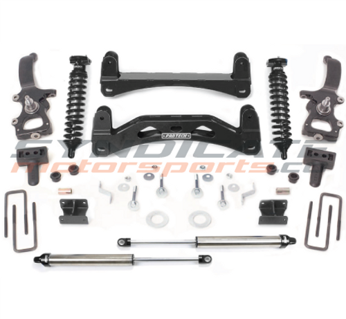 """2004-08 FORD F150 2WD 6"""" PERFORMANCE SYSTEM 2.5 COILOVERS W/ DIRT LOGIC SHOCKS - FABTECH K2001DB"""