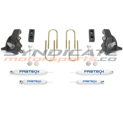 """1997-03 FORD F150/F250 HERITAGE LUG 2WD 3.5"""" SPINDLE SYSTEM- FABTECH K2070"""