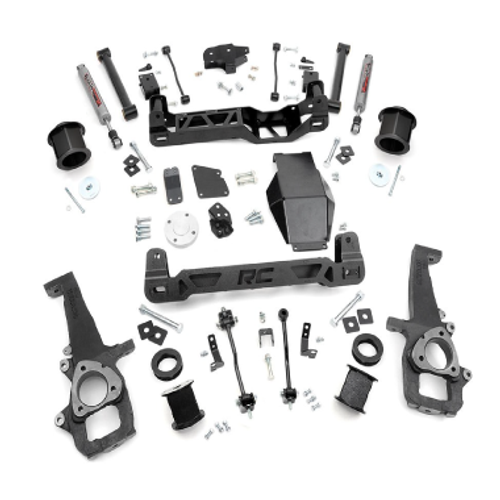 """ROUGH COUNTRY - 2012-16 DODGE RAM 1500 4WD 6"""" LIFT KIT:  324S"""