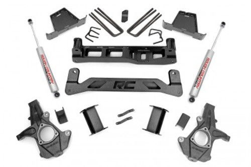 """ROUGH COUNTRY - 2007-13 GM 1500 2WD 7.5"""" LIFT KIT: 263.2"""