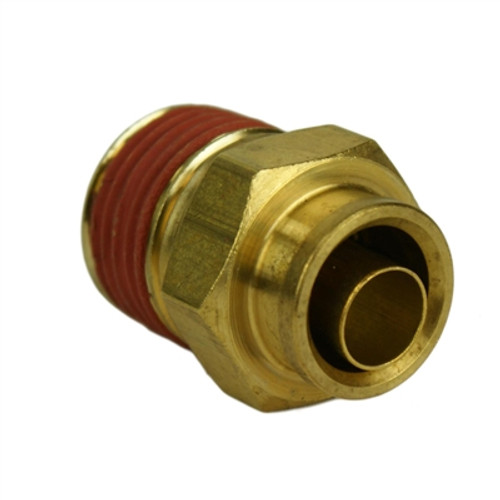 "ALKON - 1/2"" HOSE 1/2"" NPT STRAIGHT PUSH-TO-CONNECT: 05-BF12-5"