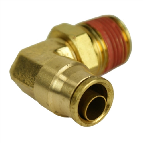 "ALKON - 1/2"" HOSE 3/8"" NPT 90 DEG PUSH-TO-CONNECT: 05-BF12-4"