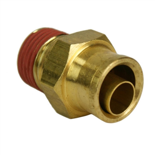 "ALKON - 1/2"" HOSE 3/8"" NPT STRAIGHT PUSH-TO-CONNECT: 05-BF12-3"