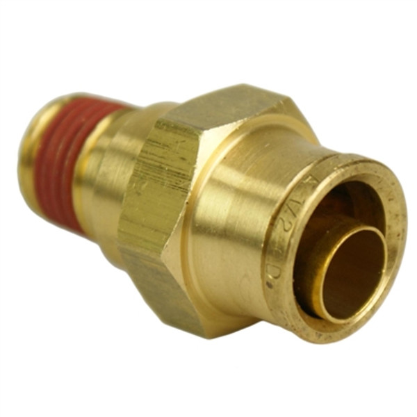 "ALKON - 1/2"" HOSE 1/4"" NPT STRAIGHT PUSH-TO-CONNECT: 05-BF12-1"