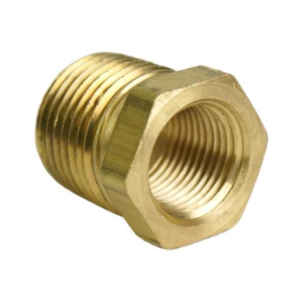 "ALKON - 1/2"" MALE TO 3/8"" FEMALE NPT REDUCER: 05-BF12-17"