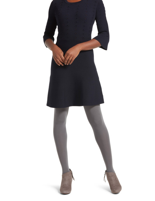 Super Opaque Control Top Tight with Cooling Yarn