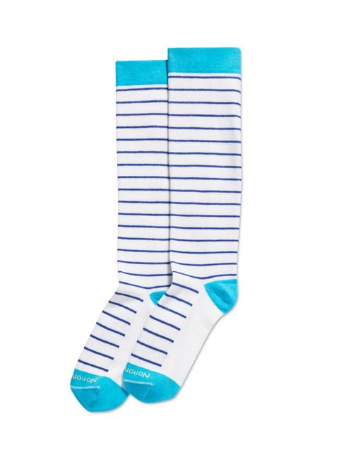 Skinny Stripe Compression Knee High Sock