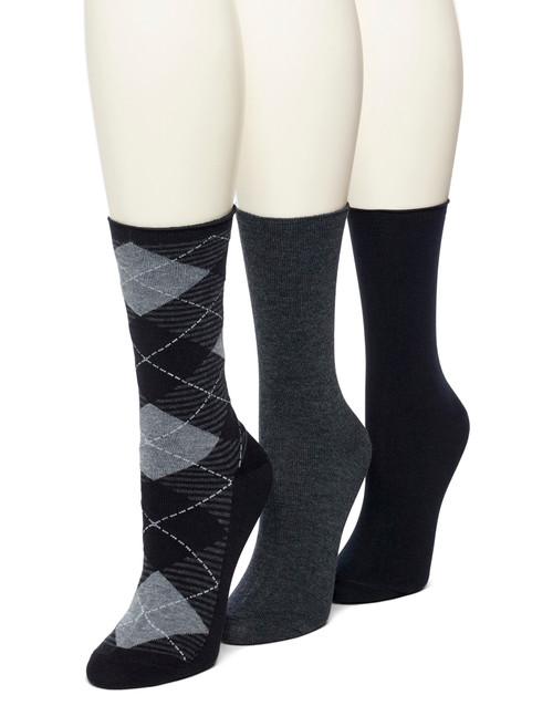 Cotton Argyle Jean Sock 3 Pair Pack