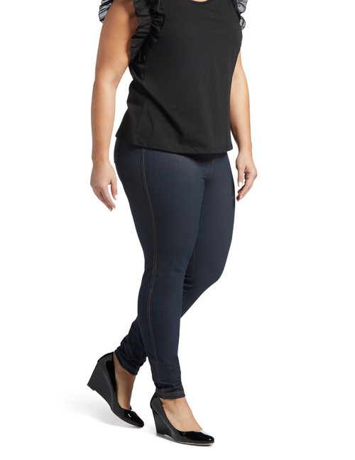 Twill Denim Leggings