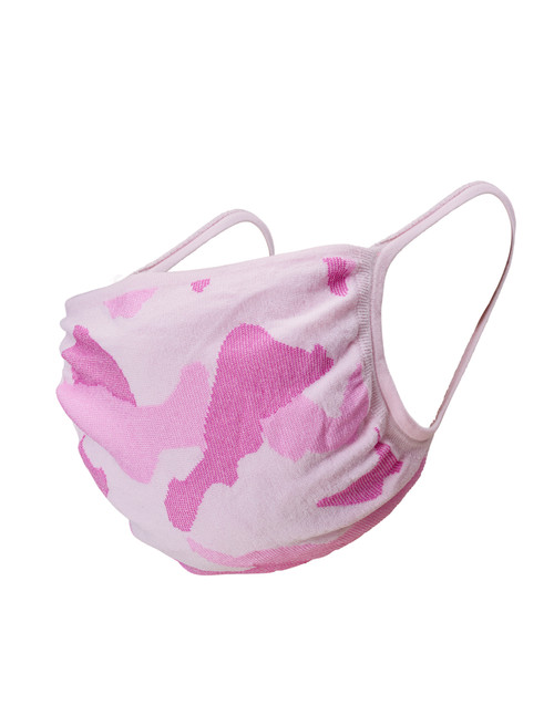 Youth 2pk Face Mask, Pink Camo