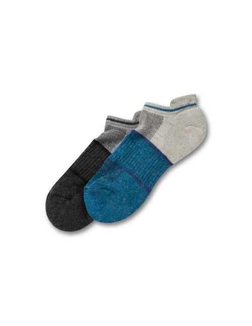 Comfort Wool Cushion Tab Back Sock Liner