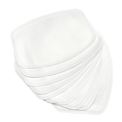 10 Pack 3-ply Disposable Face Mask Filters