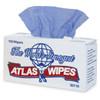"95118 Supreme™ Atlas Wipe - 9""x12"" - Blue - 150 sheets/pop up box"