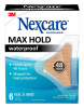 Nexcare™ Max-Hold Heel/Hand Waterproof Bandages MHWH-06, 1.75 in x 2.81 in
