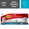 "Command™ Towel Bar, Satin Nickel, BATH41-SN-ES, 9"""