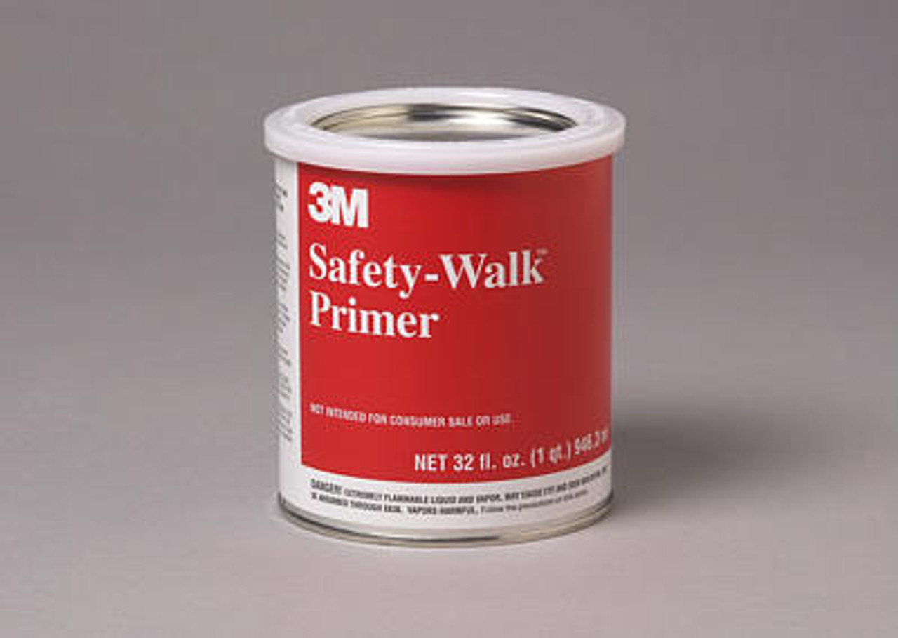 3M™ Safety Walk Primer, Clear, 1 Quart Can, 12/case
