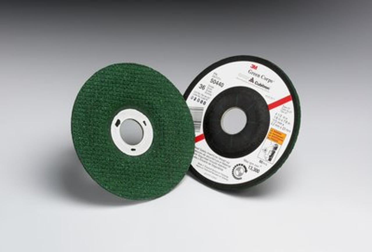 3M Green Corps Fibre Discs 5 X 7//8