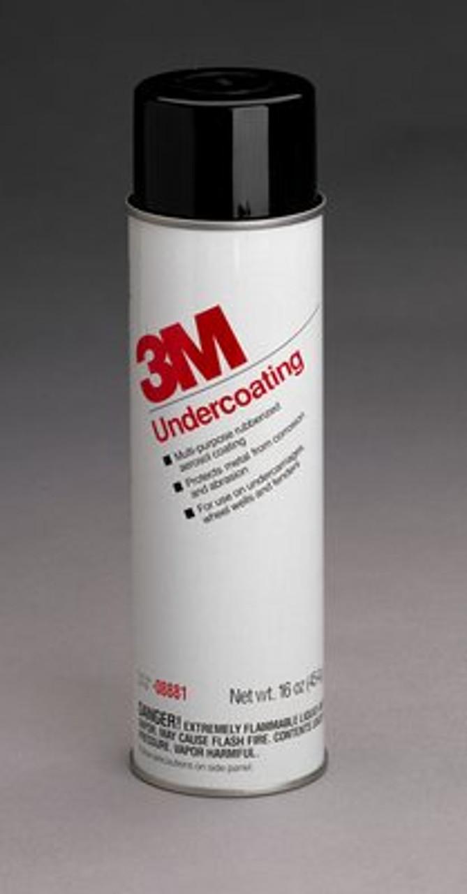 3M™ Undercoating, 08881, 16 oz Net Wt/453 g, 6 per case
