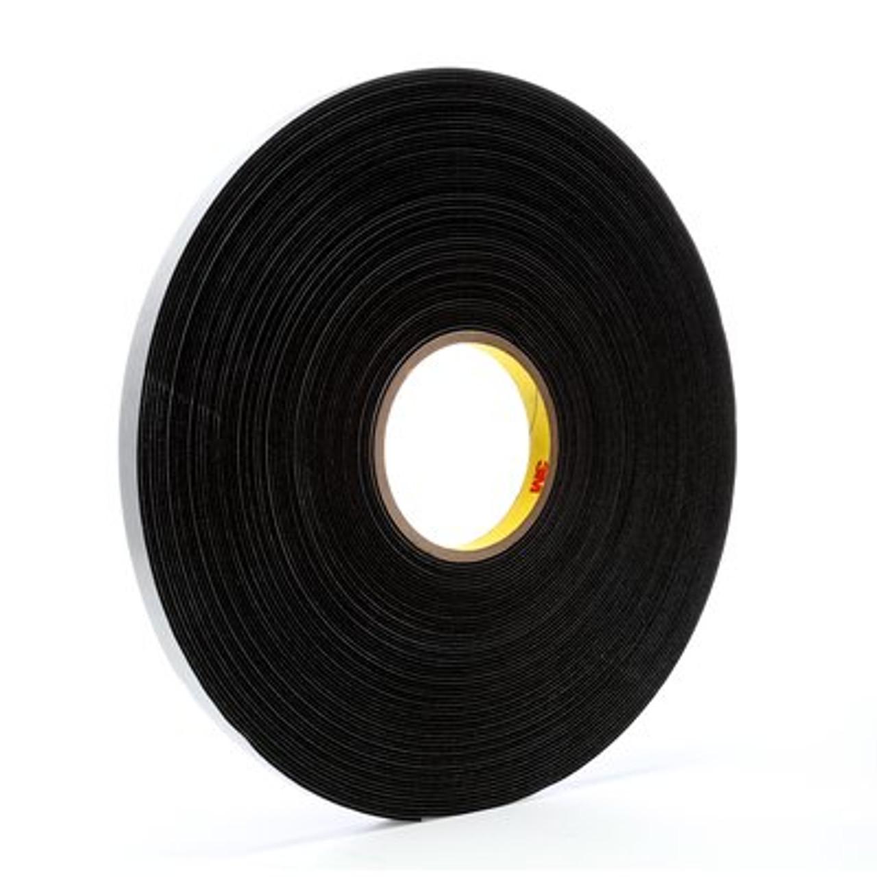 3M™ Vinyl Foam Tape 4516 Black, 1/2 in x 36 yd