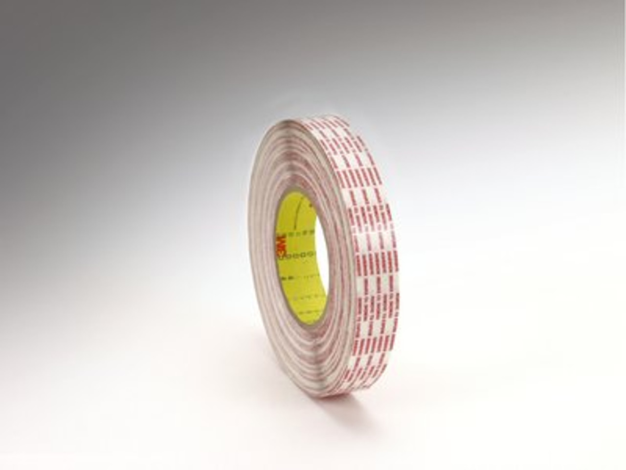 3M™ Double Coated Tape Extended Liner 476XL Translucent, 1 in x 60 yd 6.0 mil