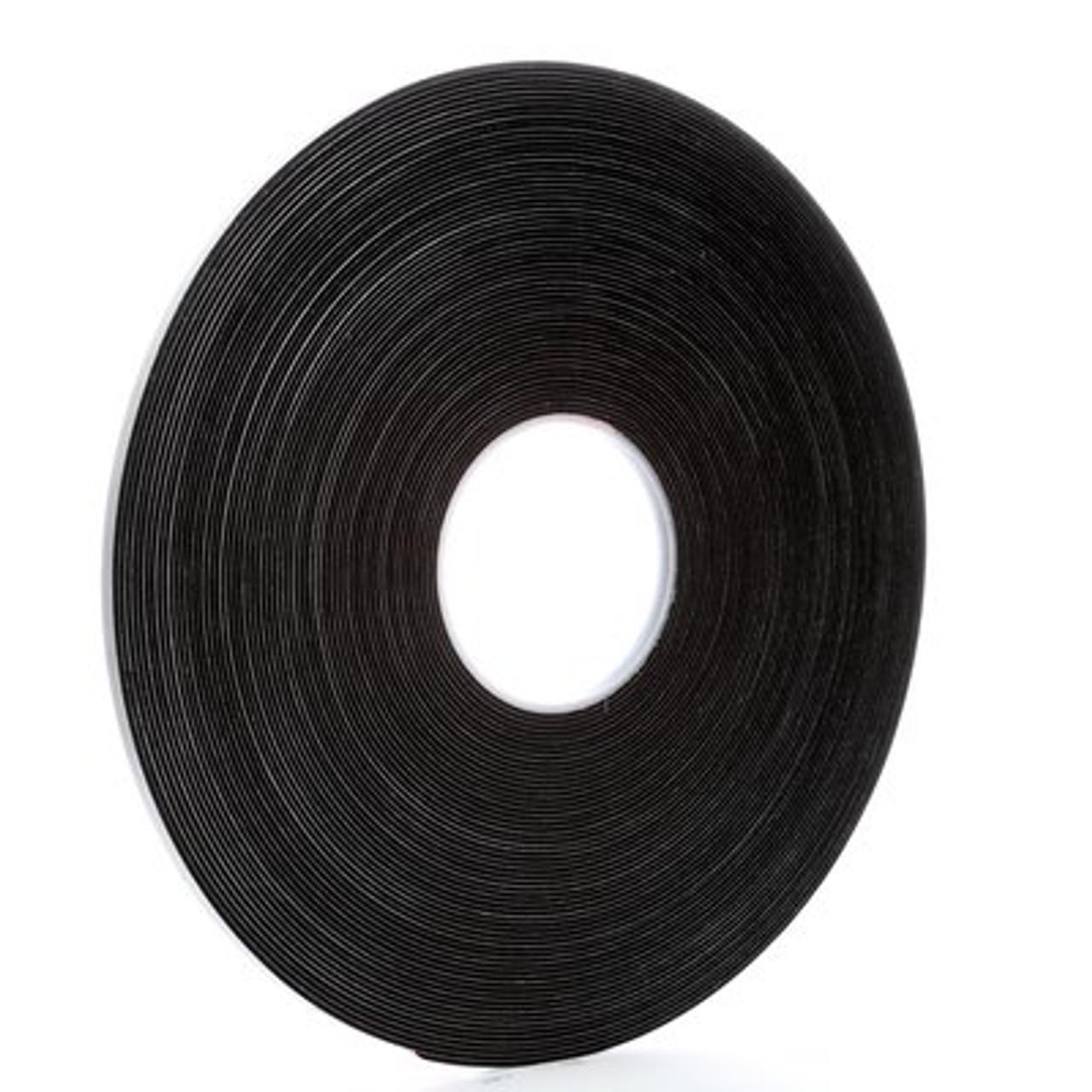 3M™ Vinyl Foam Tape 4516 Black, 1/4 in x 36 yd