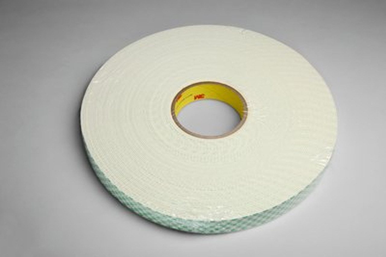 3M™ Urethane Foam Tape 4116 Natural, 1 in x 36 yd 62.0 mil