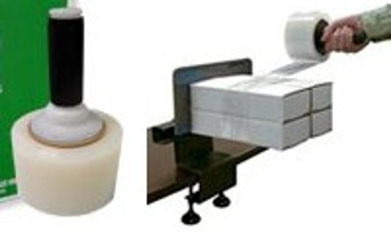 """Clear Stretch Wrap - 3"""" x 1,000' x 80 gauge (STR3X1000X80) - 18/case"""
