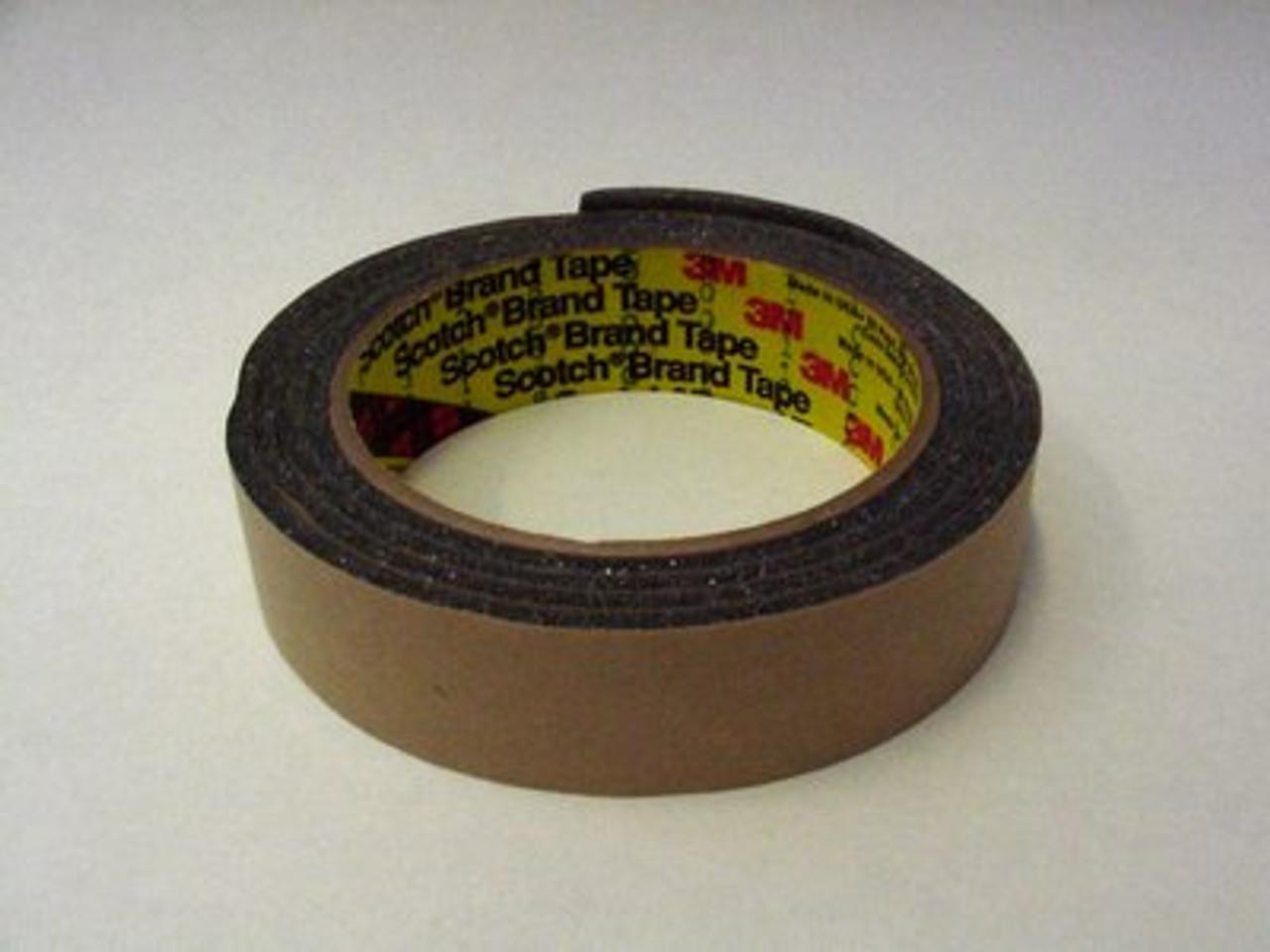 3M™ Urethane Foam Tape 4314 Charcoal Gray, 1/4 in x 18 yd 250.0 mil