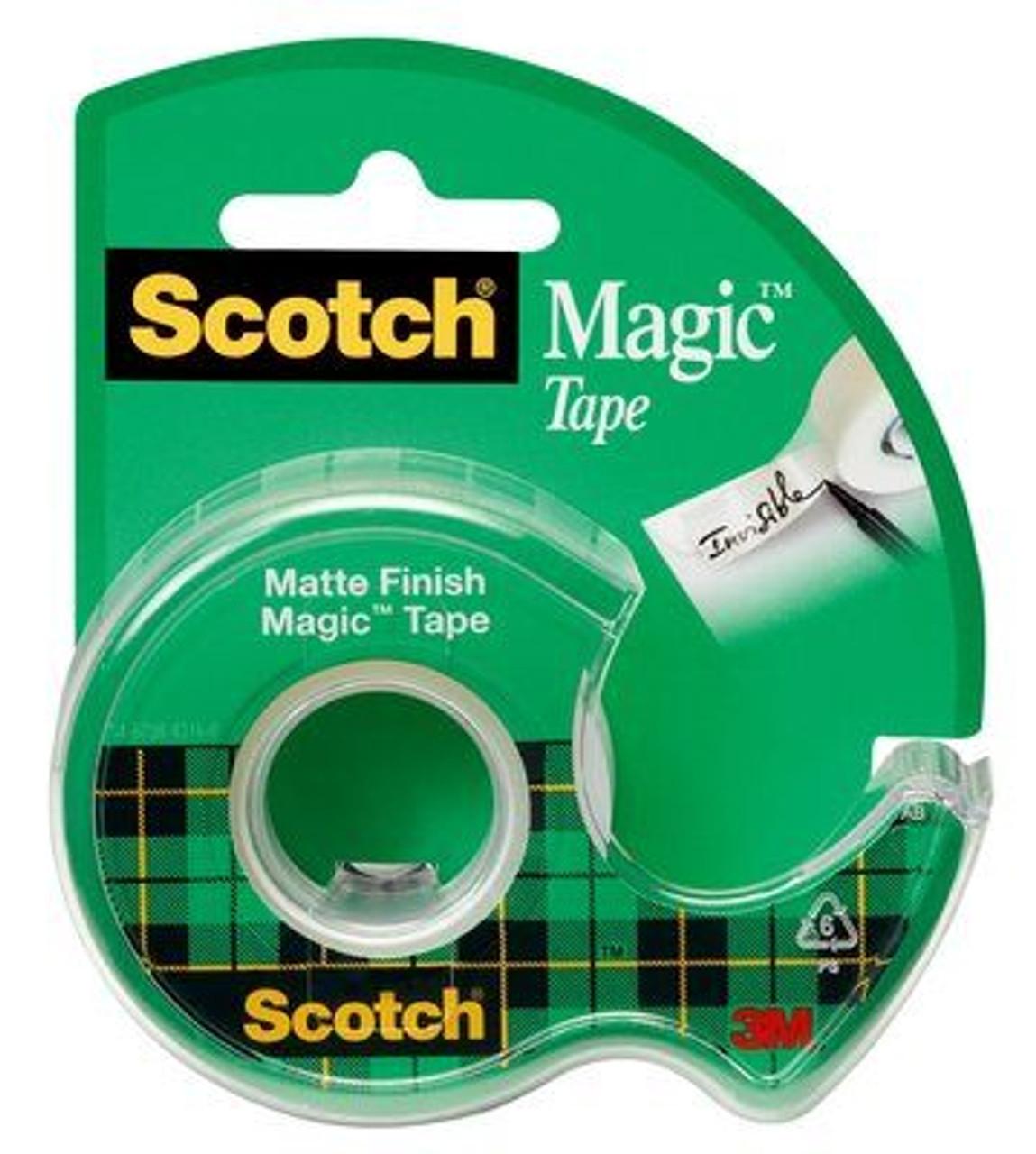 Scotch® Magic™ Tape 122, 3/4 in x 650 in x na in (19 mm x 16,5 m)