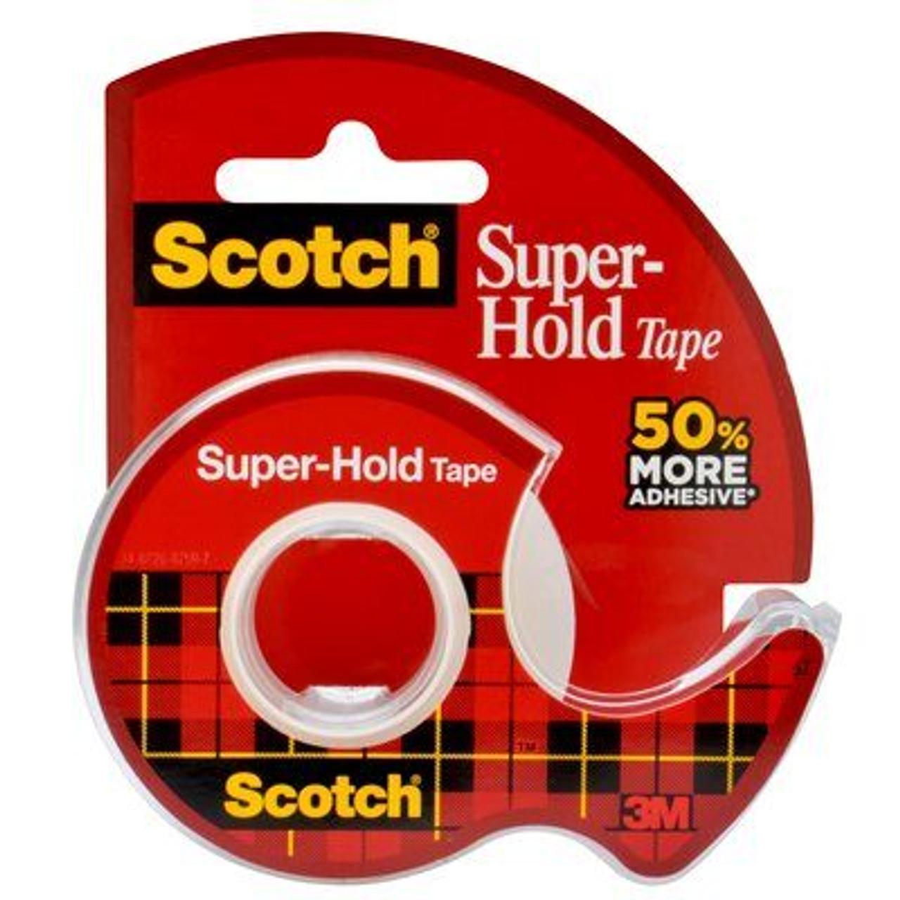 Scotch® Super-Hold Tape, 198-ESF, 3/4 in x 650 in (19 mm x 16.5 m)