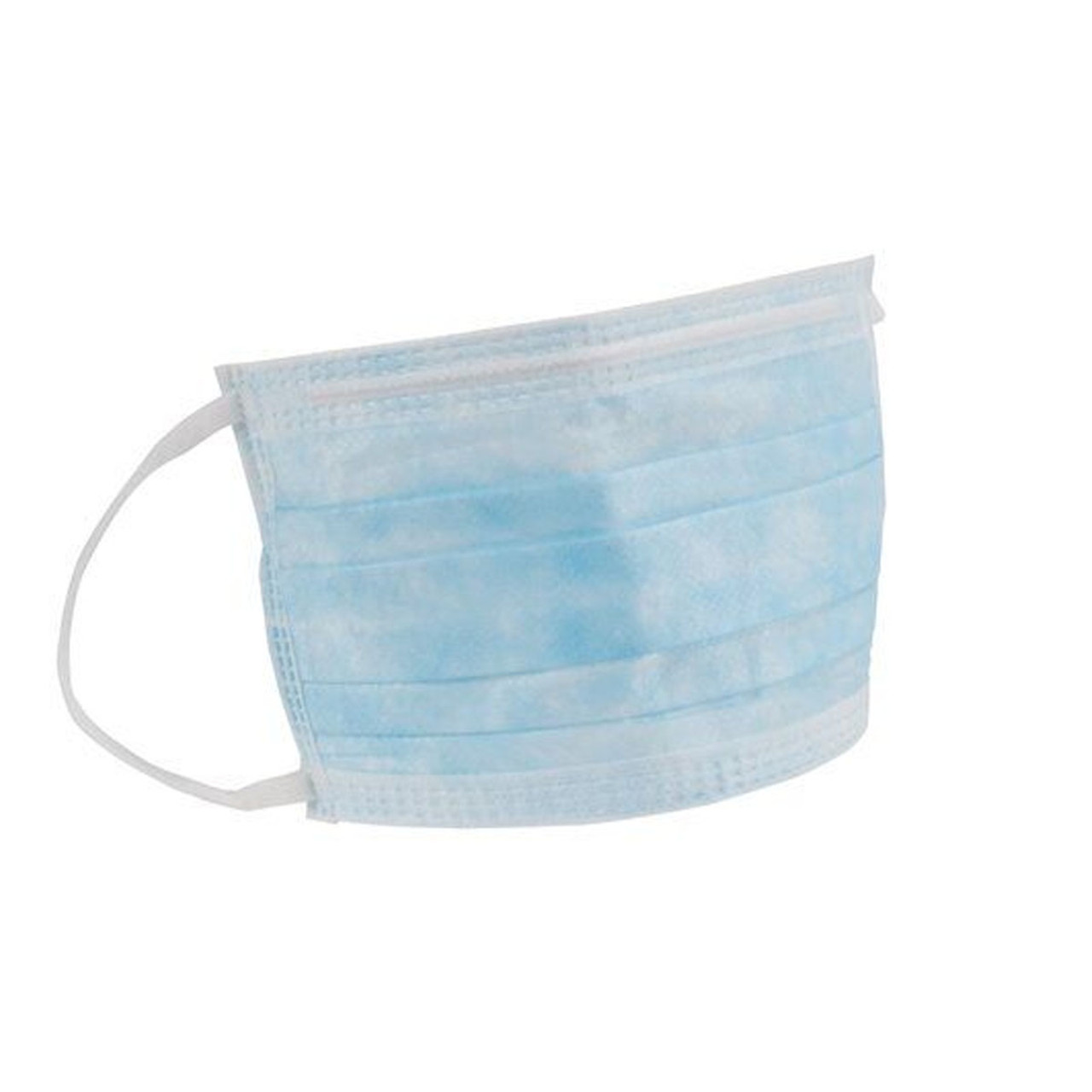 3-Ply Disposable Procedure Earloop Face Mask -  50 Masks/Box