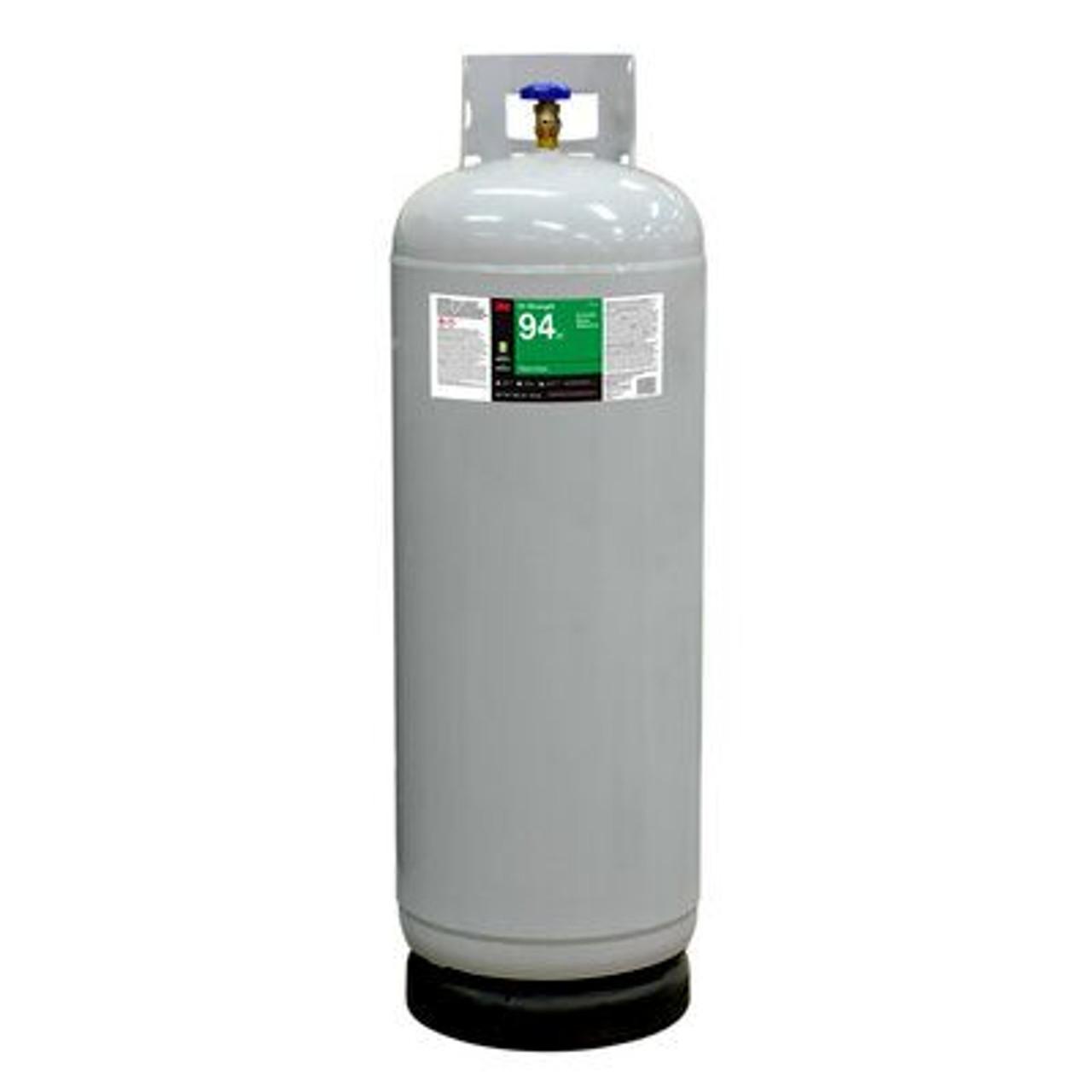 3M™ Hi-Strength 94 ET Cylinder Spray Adhesive, Clear, Intermediate Cylinder (Net Wt 128 lb)