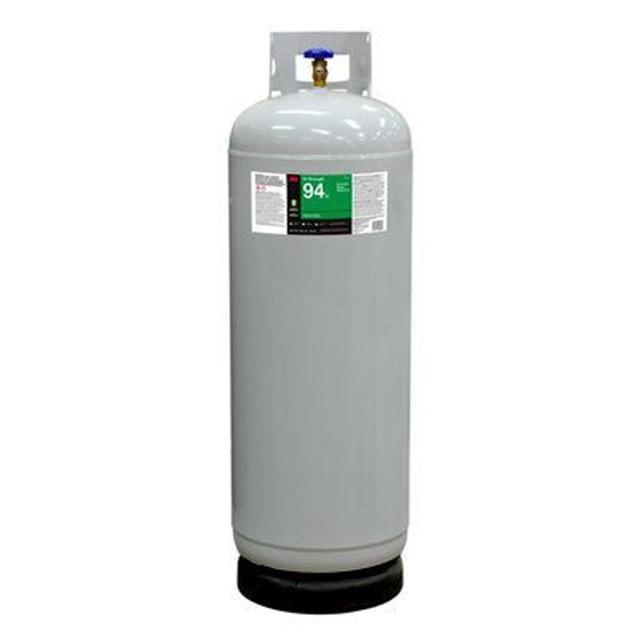 3M™ Hi-Strength 94 ET Cylinder Spray Adhesive, Red, Intermediate Cylinder (Net Wt 128 lb)