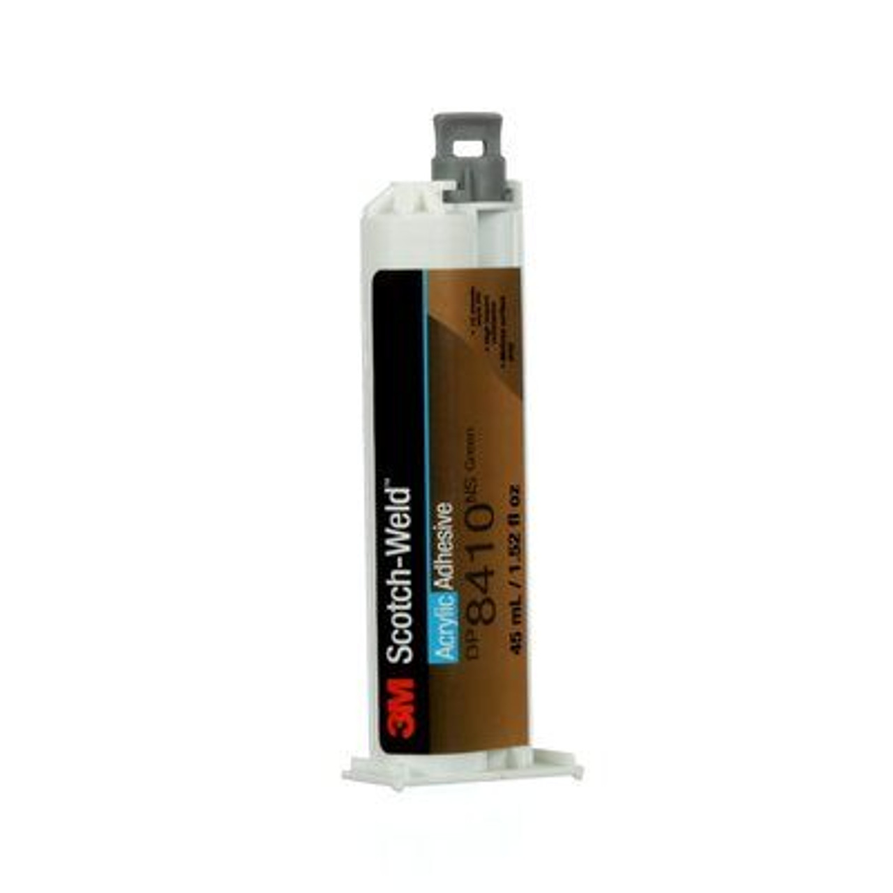 3M™ Scotch-Weld™ Acrylic Adhesive DP8410NS, Green, 45 mL Duo-Pak