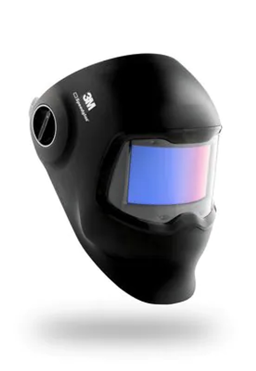 3M™ Speedglas™ G5-02 Welding Helmet 08-0100-50iC, with Curved ADF, Headband, Cleaning Wipe and Bag