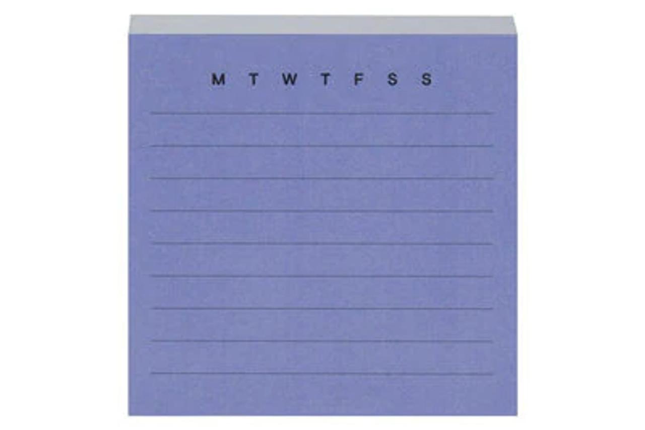 Post-it® Printed Notes NTD-33-BLU, 2.9 in x 2.8 in