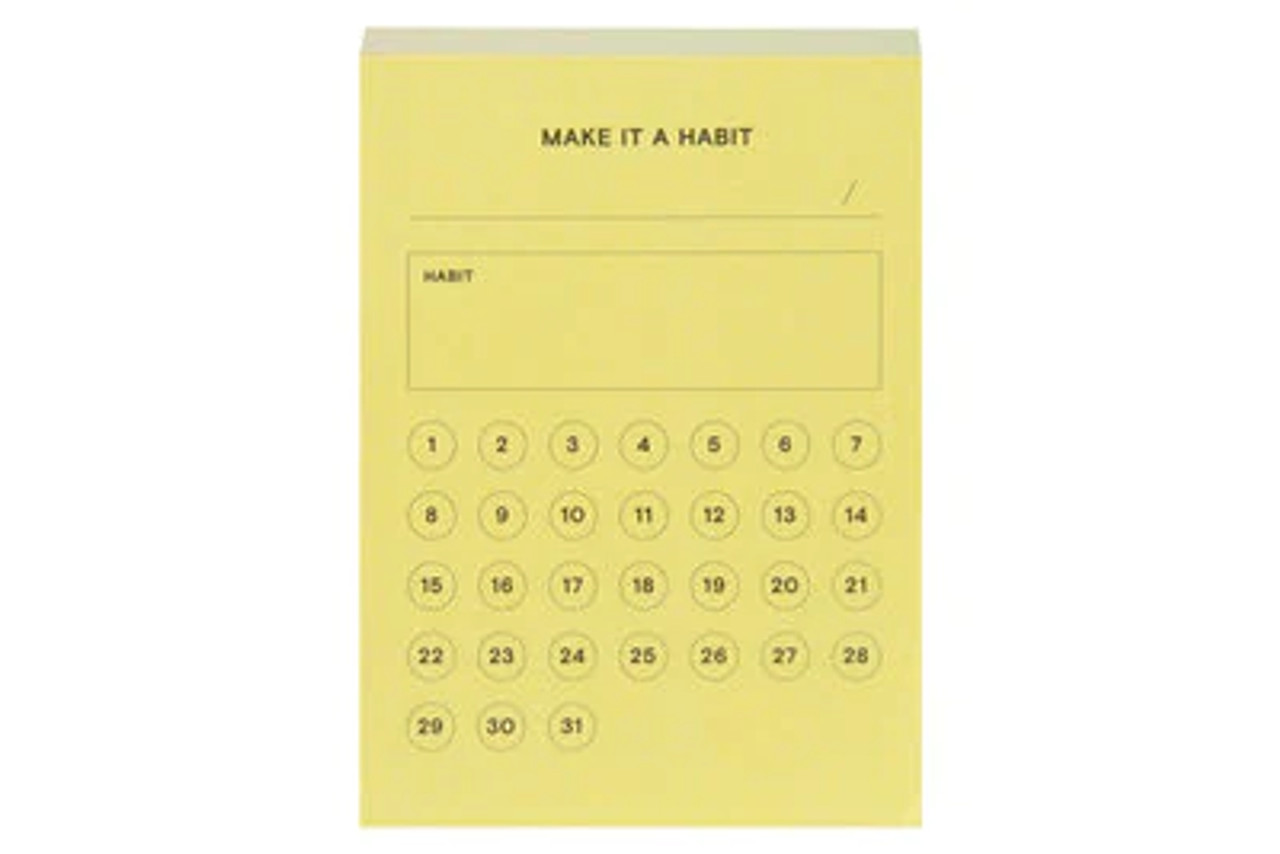 Post-it® Printed Notes NTD-34-YLW, 2.9 in x 4 in
