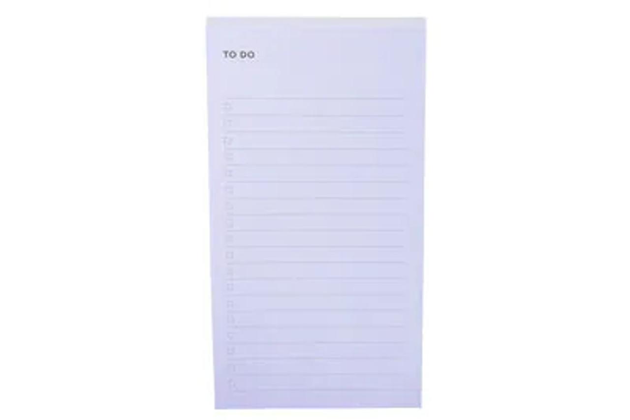 Post-it® Printed Notes NTD-36-BLU, 2.9 in x 5.7 in