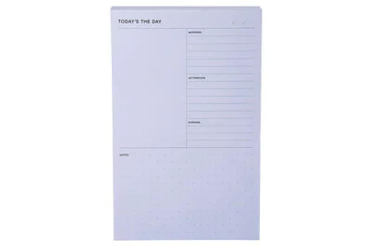 Post-it® Printed Notes NTD-58-BLU, 4.9 in x 7.7 in