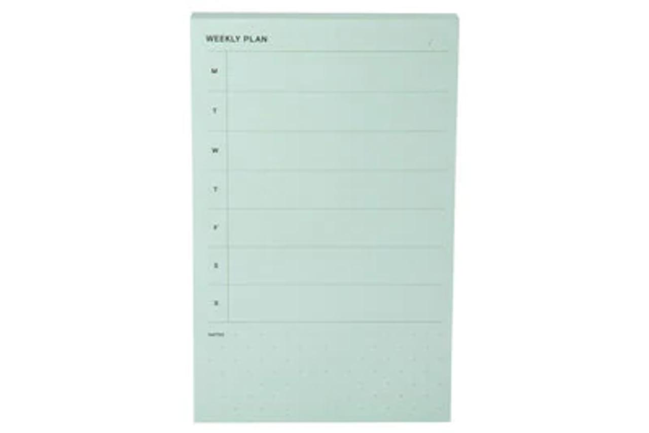 Post-it® Printed Notes NTD-58-GRN, 4.9 in x 7.7 in