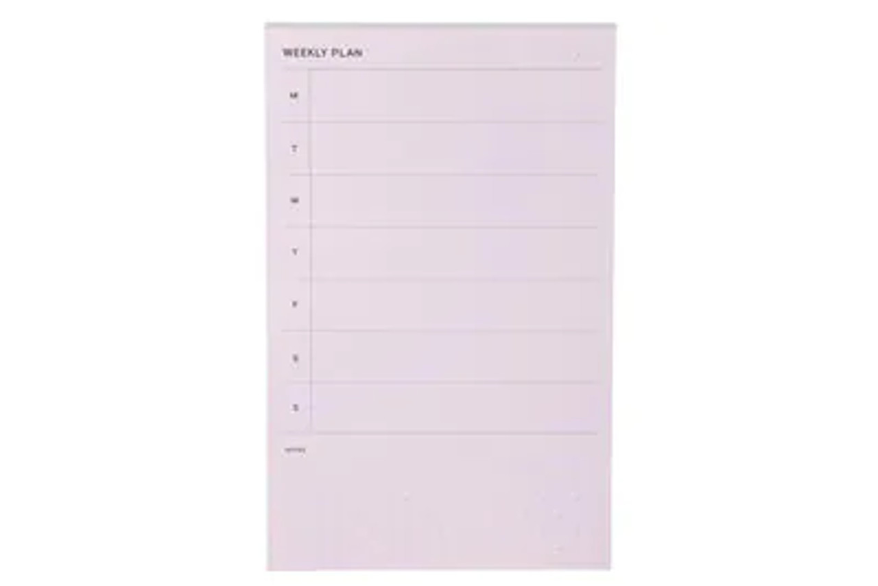 Post-it® Printed Notes NTD-58-LIL, 4.9 in x 7.7 in