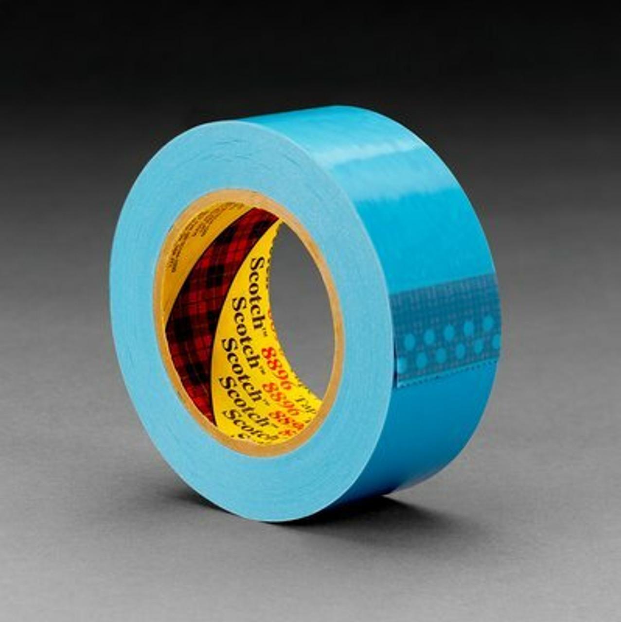 Scotch® Strapping Tape 8896, Blue, 12 mm x 55 m
