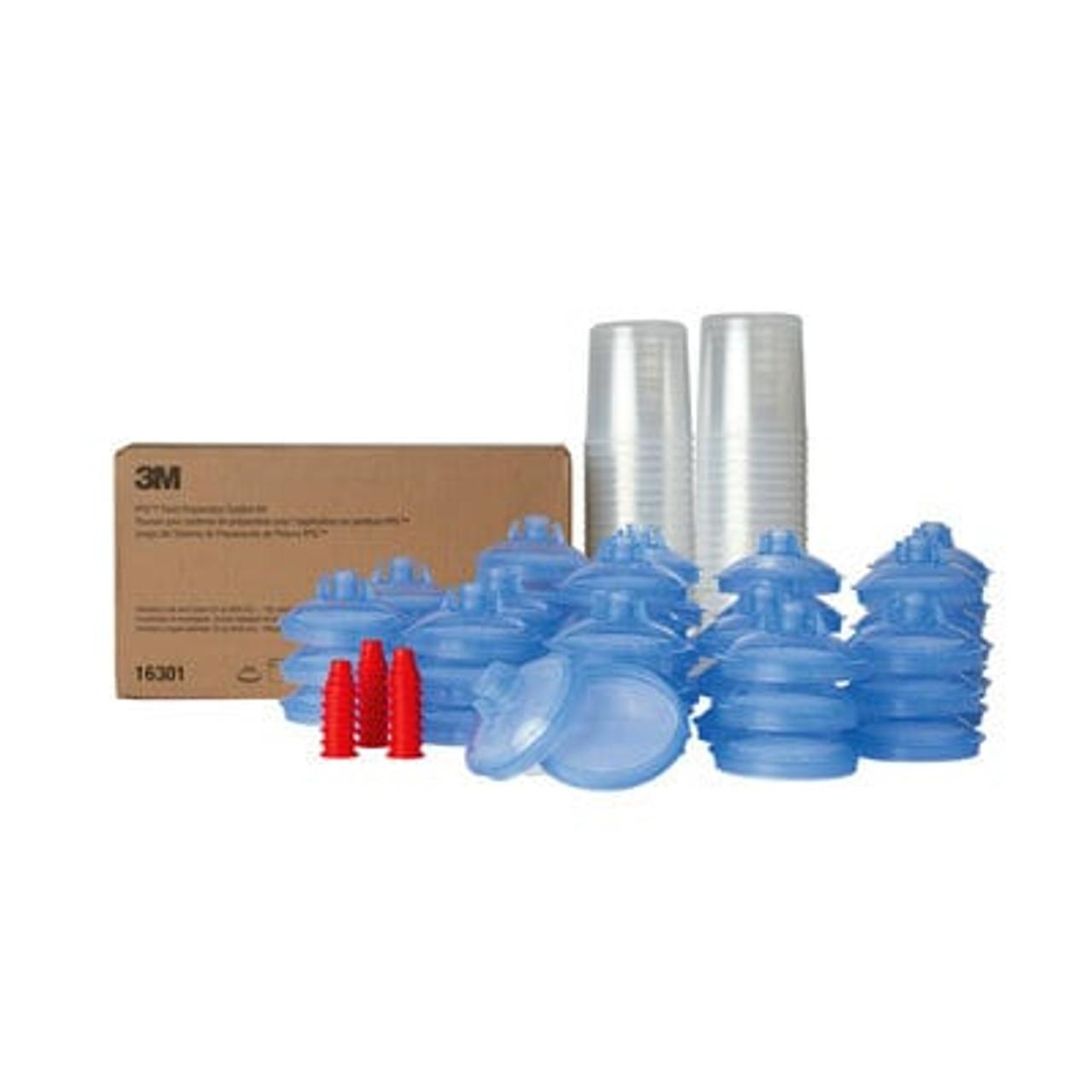 3M™ PPS™ Lid & Liner Kit, 16301, Standard (22 fl oz), 125 Micron Full Diameter Filter