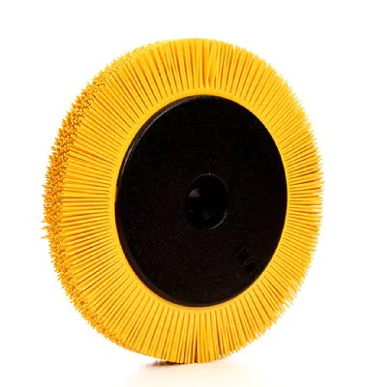 Scotch-Brite™ Radial Bristle Brush, 8 in x 1 in x 1-1/4 in 80 with Flange
